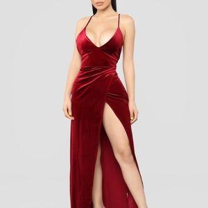 Angelique Velvet Dress